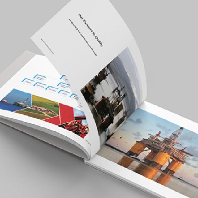 طراحی کاتالوگ معرفی خدمات شرکت سیماتک