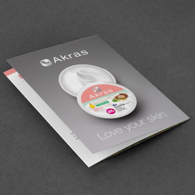 طراحی کاتالوگ محصولات آکراس