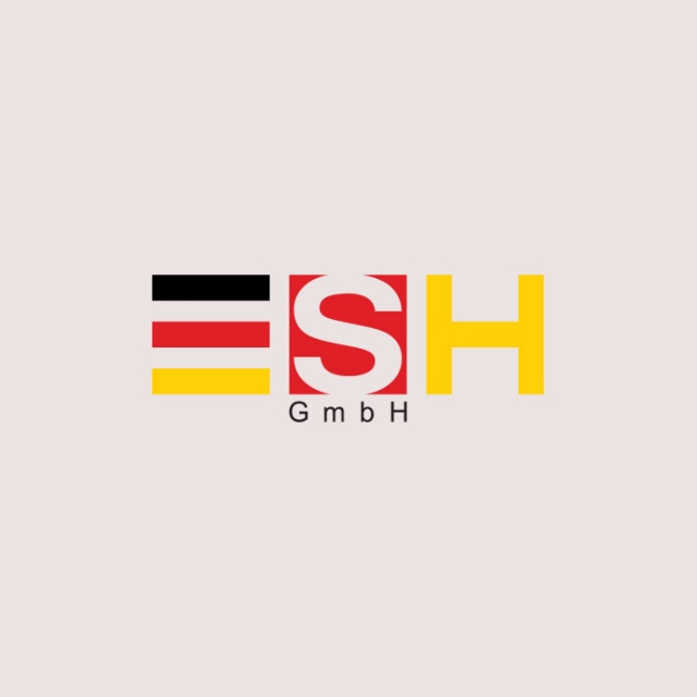طراحی لوگو شرکت ESH